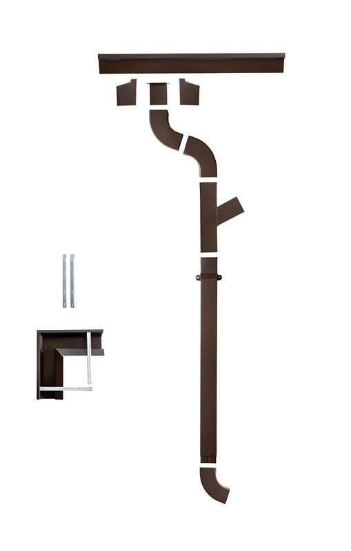 Sistem pluvial rectangular